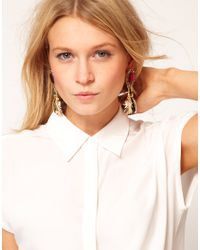 Darling - Metallic Premium Darling Bug Drop Earrings - Lyst