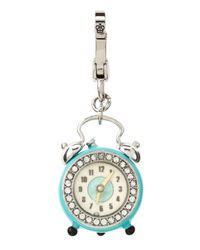 Juicy Couture - Blue Alarm Clock Charm - Lyst
