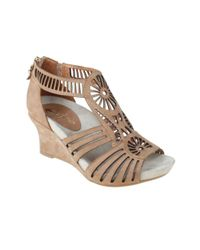 Earthies | Natural Carmona Wedge Sandals | Lyst