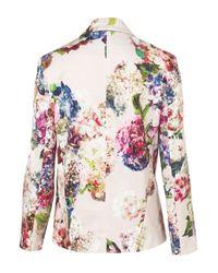 TOPSHOP | Multicolor Co-ord Garland Floral Blazer | Lyst