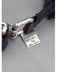 Goti - Black Bracelet - Lyst