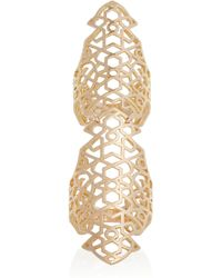 Repossi | Pink Maure Twin 18karat Rose Gold Ring | Lyst