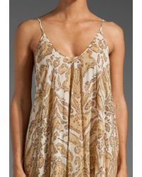 Zimmermann | Beige Savannah Layered Scarf Dress | Lyst