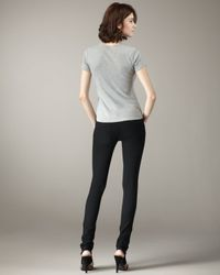 Current/Elliott - The Legging Jet Black Jeans - Lyst