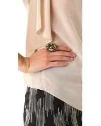 Erickson Beamon - Green Family Jewels Ring - Lyst