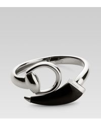 Gucci | Metallic Horsebit Bracelet for Men | Lyst