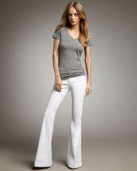 Hudson Jeans | White Ferris Flare Jean | Lyst