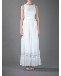 Paul by Paul Smith | White Lace Detail Dress | Lyst