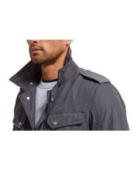 Bonobos - Gray Military Field Jacket Grey for Men - Lyst