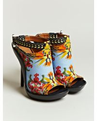 Givenchy | Multicolor Womens Printed Open Toe Stilettos | Lyst