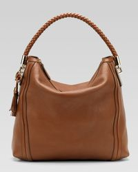 Gucci | Brown Bella Large Hobo | Lyst