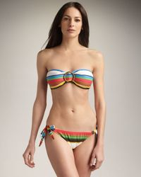 MILLY - Multicolor Sunset Bay Tie Bottom - Lyst