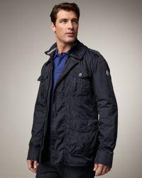 Moncler | Blue Kenya Field Jacket for Men | Lyst