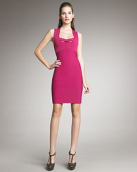 Roland Mouret - Pink Guinevere Sheath Dress - Lyst