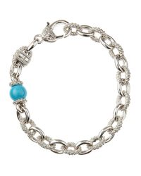 Judith Ripka | Blue Classic Serafina Bracelet | Lyst