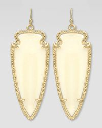 Kendra Scott | Metallic Skylar Arrow Earrings | Lyst