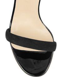 Nicholas Kirkwood | Black Fringed Suede Sandals | Lyst