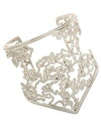 Repossi - Metallic Pave Diamond Nérée Cuff - Lyst