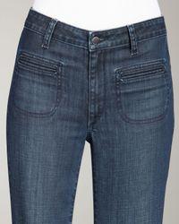 Vince Blue Fonda Flare Jeans, Sierra