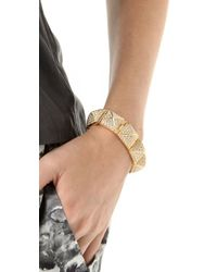CC SKYE | Metallic Stud Hinged Bracelet | Lyst