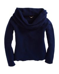 The Row - Blue Tiffany Cowl-neck Cashmere Sweater - Lyst