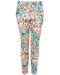 TOPSHOP | Multicolor Coord Floral Print Trousers | Lyst