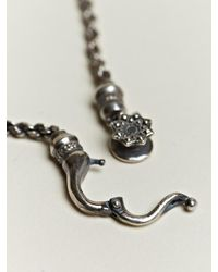Nonnative - Metallic Nonnative Mens Twist Link Necklace for Men - Lyst