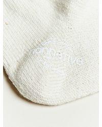 Nonnative - White Cotton Socks for Men - Lyst