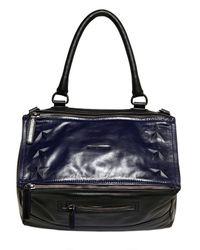 Givenchy | Blue Medium Pandora Stars Shoulder Bag | Lyst