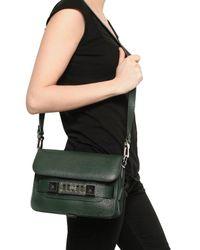 Proenza Schouler - Green Ps11 Mini Classic Textured Leather Bag - Lyst