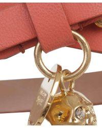Alexander McQueen - Pink Coral Double Wrap Bracelet - Lyst