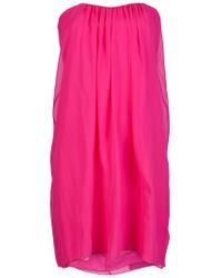 Alice + Olivia | Pink Jocelyn Dress | Lyst