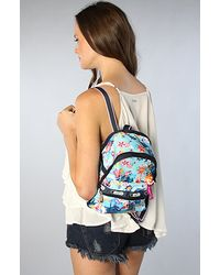 LeSportsac | Blue The Disney X Lesportsac Mini Basic Backpack with Charm in Tahitian Dreams | Lyst