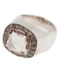 Rosa Maria | Gray 'jira' Ring | Lyst