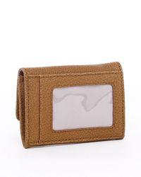 MICHAEL Michael Kors | Brown Jet Set Flap Coin Holder Luggage Black Or Golden | Lyst