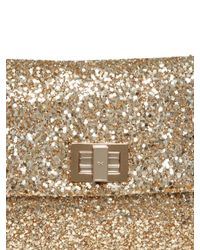 Anya Hindmarch - Black Rainbow Glitter Clutch - Lyst