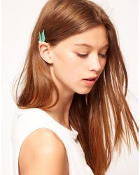 ASOS | Blue Winged Ear Cuff | Lyst