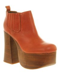 Jeffrey Campbell | Brown Puppy 2 Platforms | Lyst