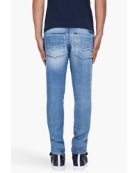 DIESEL | Blue Teppherne Jogg Jeans for Men | Lyst