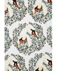 TOPSHOP - Multicolor Swan Print Shorts - Lyst