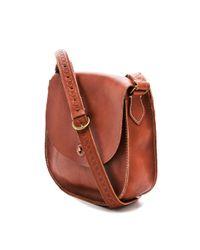 Madewell - Brown Tassel Flap Bag - Lyst