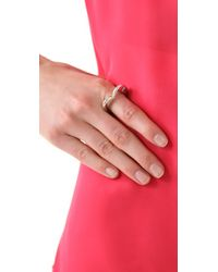 Marc By Marc Jacobs | Metallic Lamour Fou Ring | Lyst