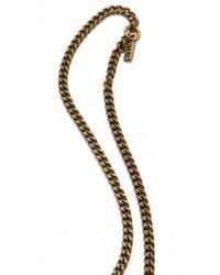 Vanessa Mooney - Metallic The Zelda Large Cross Necklace - Lyst