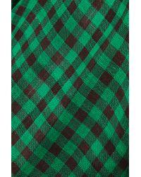 Nasty Gal - Green Teen Spirit Plaid Shirt - Lyst