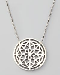 Pamela Love | Metallic Window Pendant Necklace | Lyst
