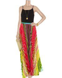 Alice + Olivia   Multicolor Shannon Printed Maxi Skirt   Lyst