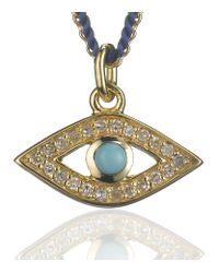 Astley Clarke | Metallic Evil Eye Charm Pendant | Lyst