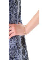 Gorjana - Metallic Cora Varied Charm Bracelet - Lyst