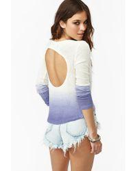 Nasty Gal | White Nasty Gal X Minkpink Dip Dyed Knit | Lyst