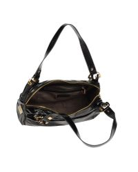 Studio Pollini - Black Large Leather Bag - Lyst